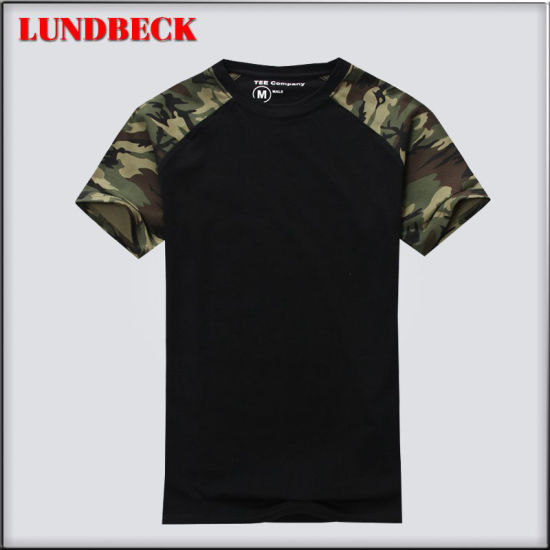 Summer Cotton T-Shirt for Men Round-Neck Clothing pictures & photos