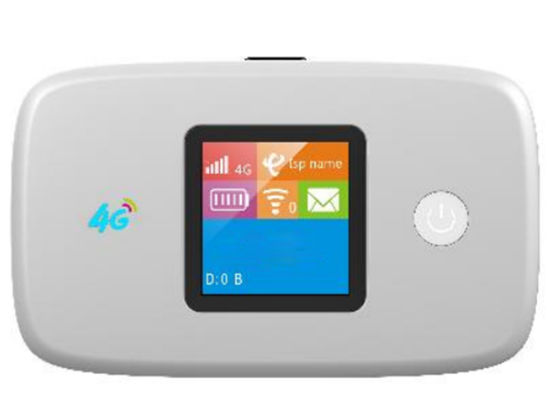 Pocket 3G 4G LTE Wireless Hotspot 2.4GHz Portable WiFi Router for 10 Device with 2300mAh Battery