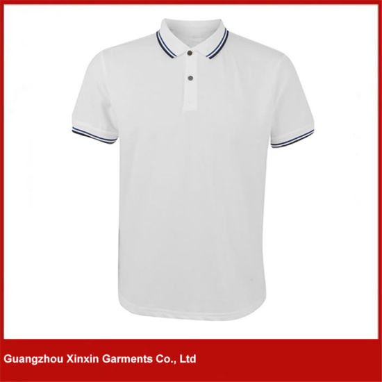 Custom Plain Polo T-Shirt 100% Cotton T-Shirts (P62)