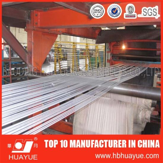 High Quality DIN22131 St800 China Steel Cord Conveyor Belt pictures & photos