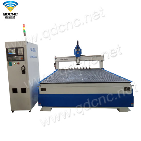 Atc Wood CNC Router with Taiwan Syntec Operation System Qd-1325s/1530s/2030s