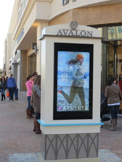 Sizes From 49′′ to 98′′ 3500nit Free Standing LCD Kiosk pictures & photos
