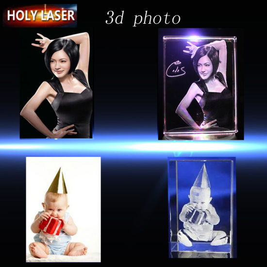 Holylaser CNC 3D Crystal Laser Engraving Machine for Small Business 2016 pictures & photos