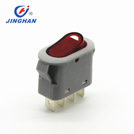 China Kcd3 605 Rocker Switch 4 Prong Rocker Switch 4 Pin Wiring China Rocker Switch Light Rocker Switch Kc