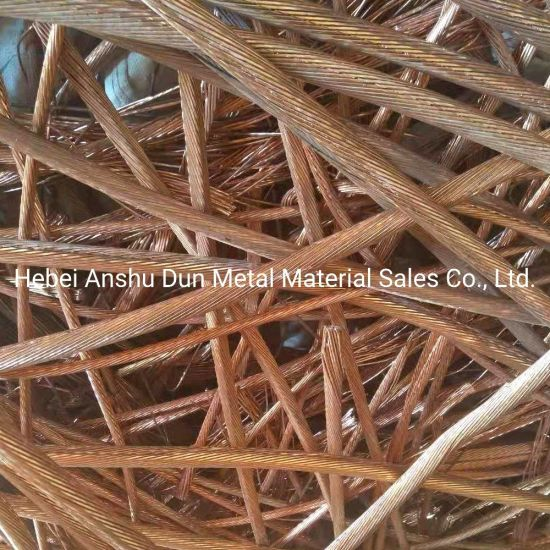 High Quality Cheap Copper Wire Scrap 99.99% From China