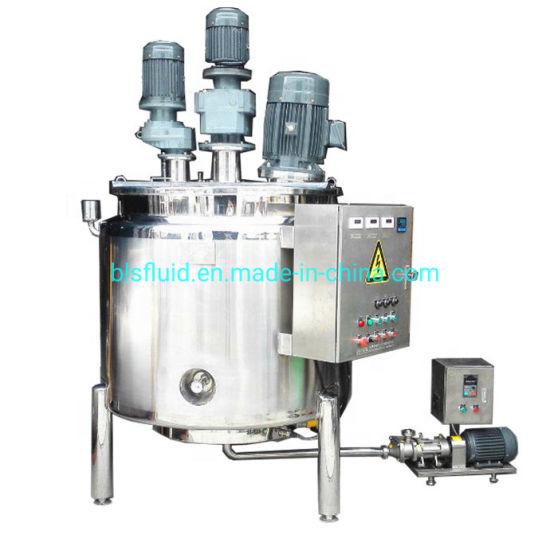 1000 Liter Electric Heating Shampoo Homogenizing Mixer