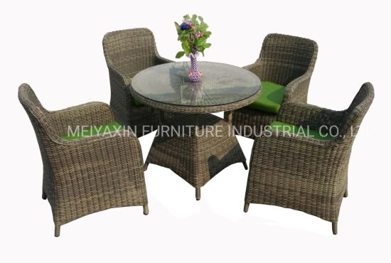 Aluminum Outdoor Furniture Garden Dining Set Chair and Table