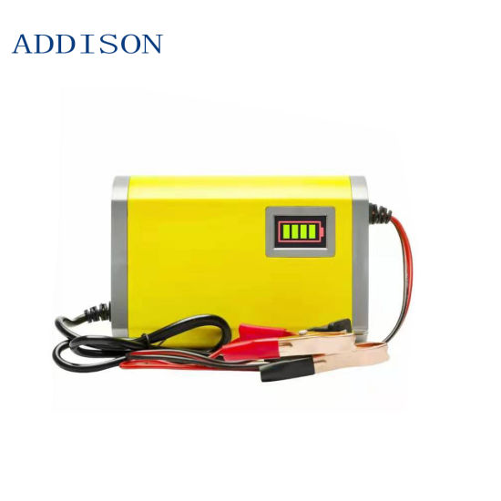 Wheelchair/Electric Trolley Adapter Charger for Lead Acid Battery 12V4V Battery Charger 12V