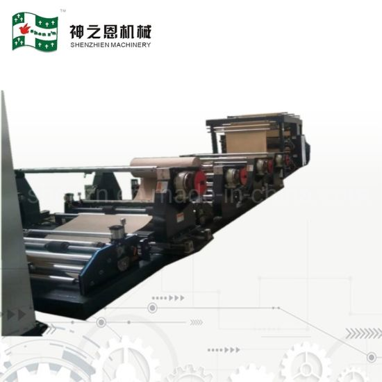 Multiwall Paper Bag Making Machine to Manufacture Paper Sacks