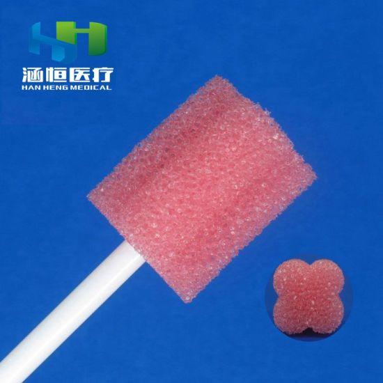 8704 Disposable Sponge Stick Swab Medical Cleaning Swab Medical Swab Factory