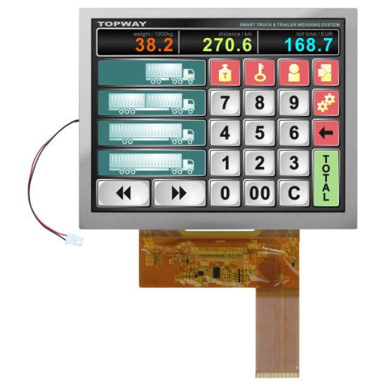 8 Inch Lvds Interface TFT LCD Display Module