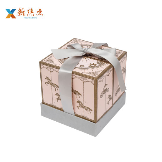 Custom Fashion Design Printing Carboard Wedding Gift Packaging Box
