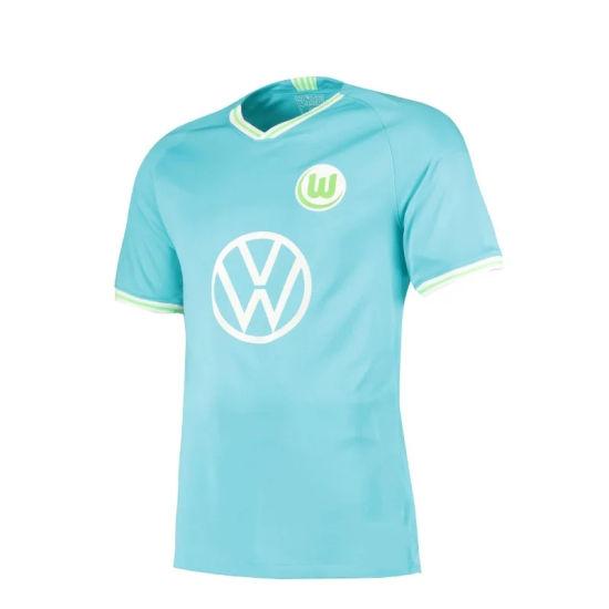 China 2019 2020 Wolfsburg Jersey Away Football Jersey China Soccer Jersey And Football Shirts Price