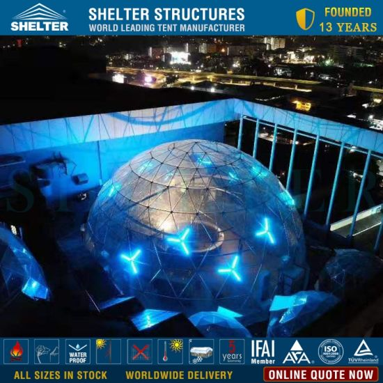 China Shelter Manufacturer Clear Dome Shaped Exhibition Tent For Event China Shelter Domes And Transparent Pvc Dome Price
