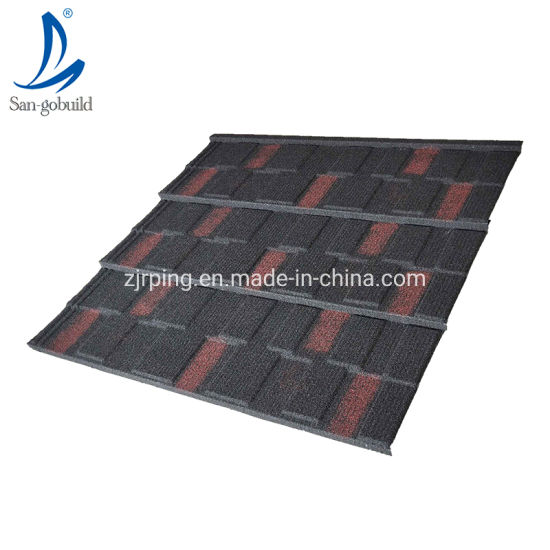 New Design Decoration Building Materials Colorful Stone Coated Metal Roof Sheet pictures & photos