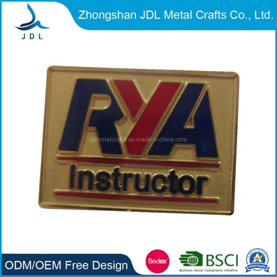 Metal Custom 3D Promotion Gift Emblem Badge Lapel Pin (184)