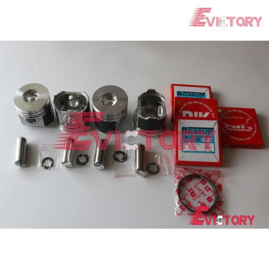 piston ring set Kubota full gasket V2403T V2403T engine bearing