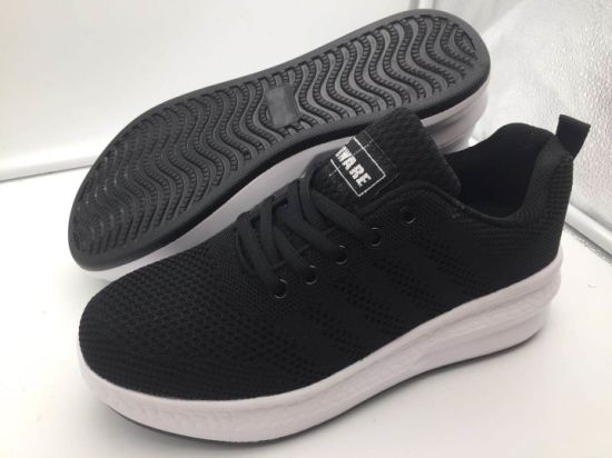Causal Flyknit Upper and Super Soft PU Outsole for Women Shoes