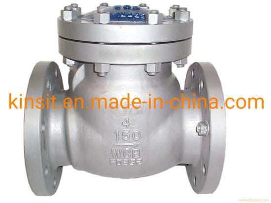 2-12 Inch Flanged Non-Return Valve Swing Check Valve 150lb pictures & photos