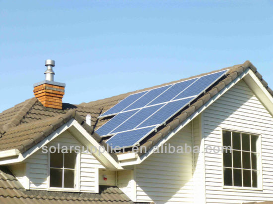 European Styles off Grid Batteries for Solar System 5kw pictures & photos