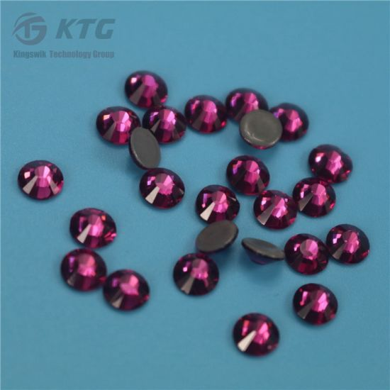 Wholesale Flat Backs Hot Fix Rhinestones China Rhinestone Crystal Glass Rhinestone pictures & photos