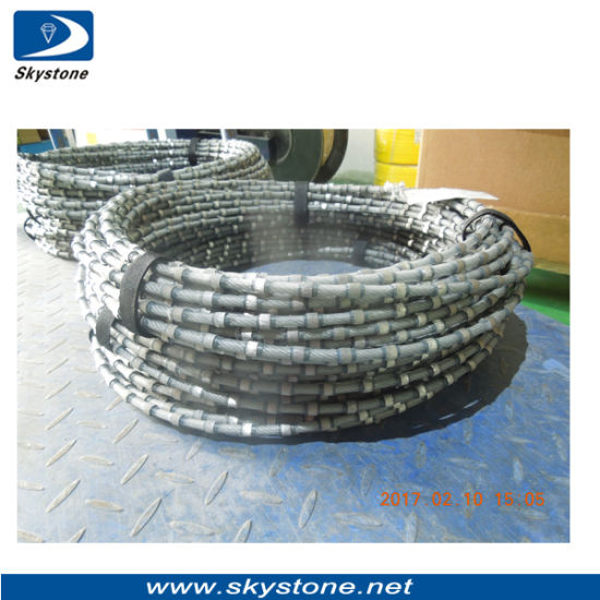 Stationary Diamond Wire for Granite Block Cutting pictures & photos