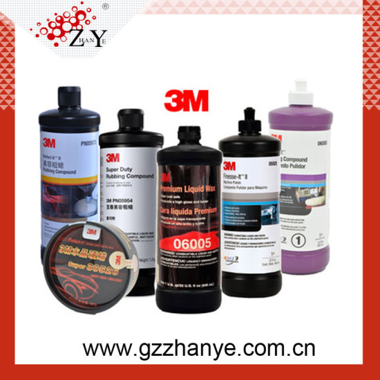 China 3m 06085 Car Polishing Rubbing Compound Wax For Car Polishing China 3m Rubbing Compound