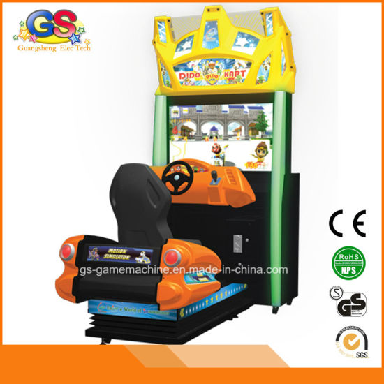 Dido Kart Kids 4D Racing Car Driving Arcade Games Machine for Sale Midnight Maximum Tune 5 pictures & photos