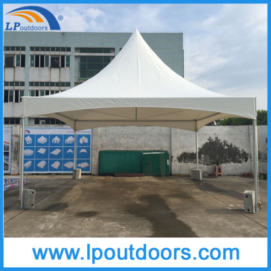 6X6m Outdoor Aluminum Frame High Peak Ghana Tent for Wedding pictures & photos