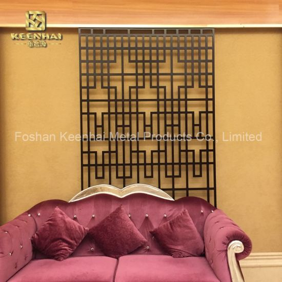 Living Room Wall Panel Interior Decorative Partition Screen (KH-FS-08)