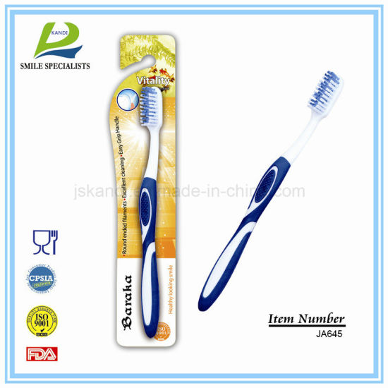 Teeth Whitening Adult Toothbrush Manufacture pictures & photos