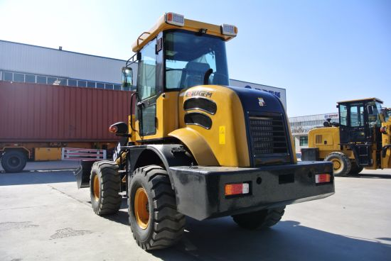 Zl12 (1.2TON) China 0.6cbm Bucket Capacity Mini Small Wheel Loader for Sale pictures & photos