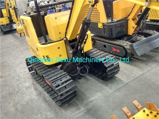 1 Ton Hydraulic Mini Crawler Excavator for Farm