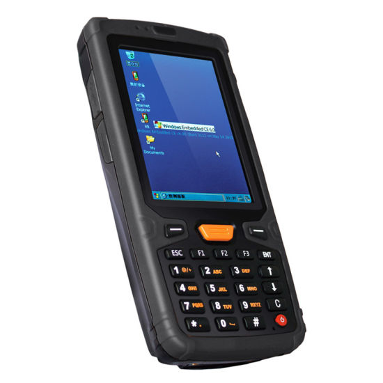 Infrared RFID Hand Held Barcode Scanner with Windows Ce as OS pictures & photos