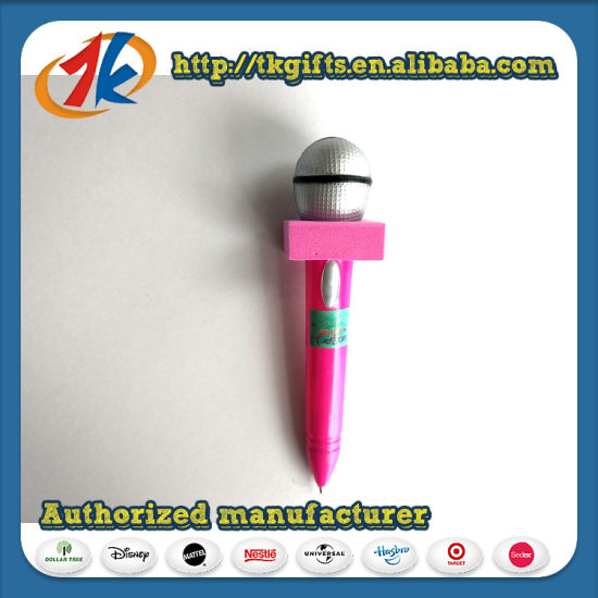 Novelty Kids Microphone Ballpoint Pen Toy for Kids