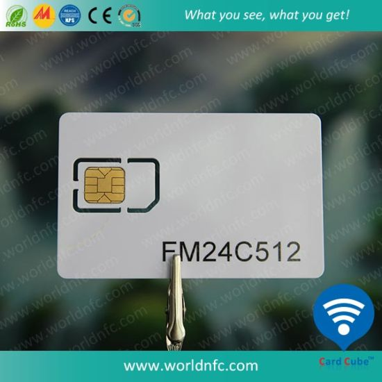 FM4442 Sle5528 Sle5542 Contact IC PVC Card pictures & photos