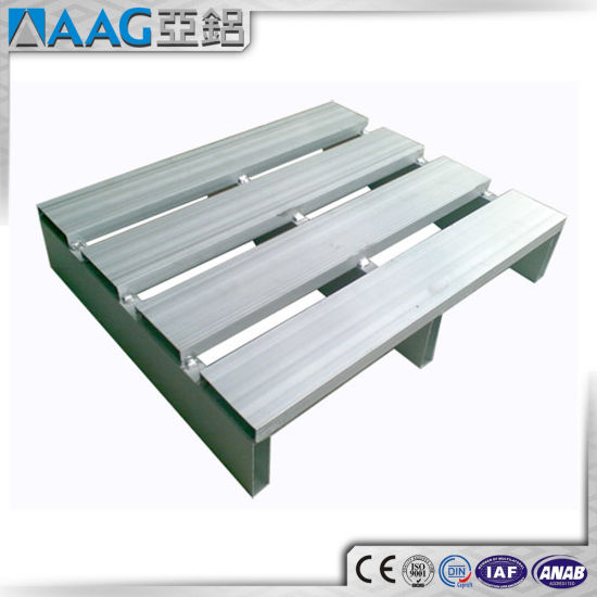 Hot Sale Factory Suppliers Welding Stackable Custom Aluminium Pallet