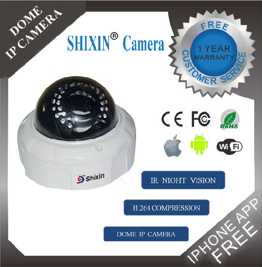 1080P Explosion Proof IR Night Camera Dome Wireless IP Camera pictures & photos