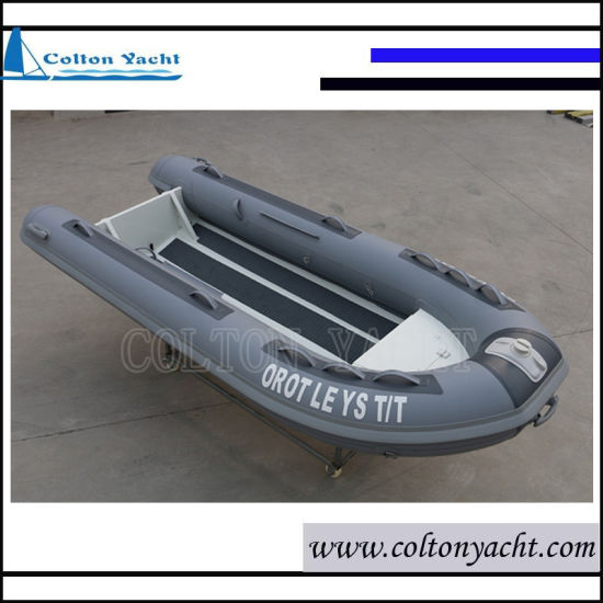 Rigid Inflatable Boat and Aluminum Rib Boat with PVC or Hypalon Tube