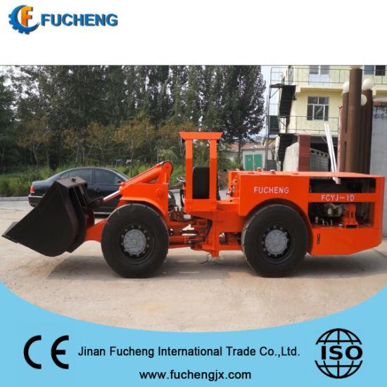 New diesel hydraulic underground ore hauling loader with DANA gearbox