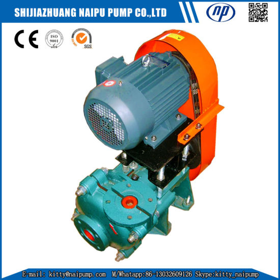 China 1 5/1b-Ah Rubber Liner Waste Water Sludge Pump for Sale