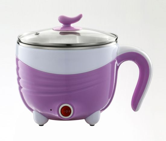 Stainless Steel Electronic Mini Soup Pot with Seamless Pot Body