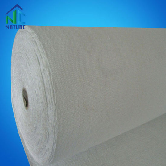 1.5mm-6mm Thickness Thermal Insulation Ceramic Fiber Cloth for Furnace Fire Door, Pipe Ceramic Fiber Tape