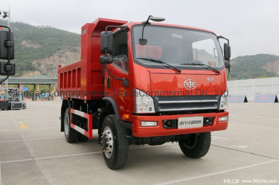 FAW 3-5 Tons Small Dump Truck Light Tipper Truck pictures & photos