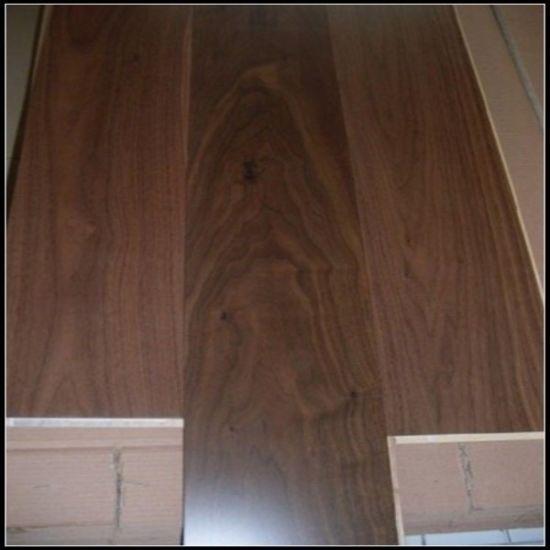 China Natural Engineered Black Walnut Wooden Flooringwood Floor
