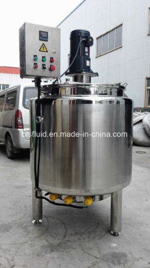 China 500L Jacket Chocolate Melting Tank with Agitator pictures & photos