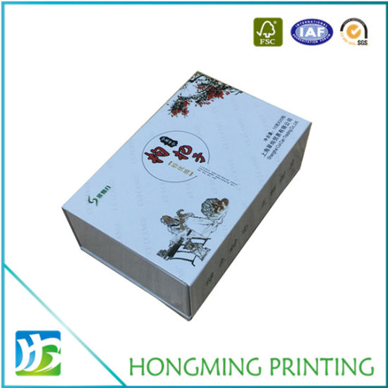 Wholesale Glossy White Offset Printing Magnetic Gift Boxes pictures & photos