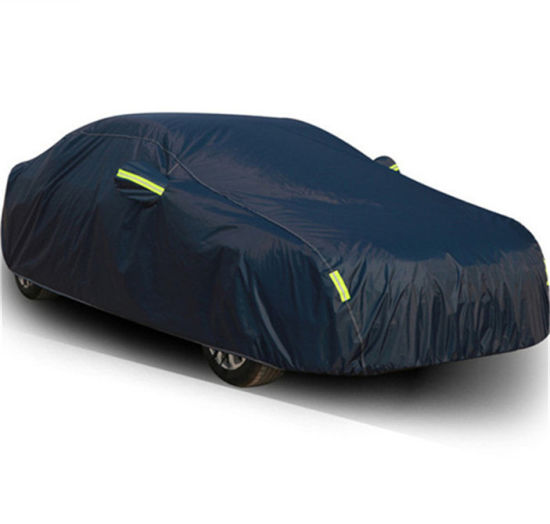 Factory Wholesale Silver Coated 190t Polyester Anti Theft Car Cover