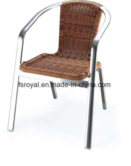 Metal Furniture Outdoor Rattan Wicker Hotel Dining Chairs