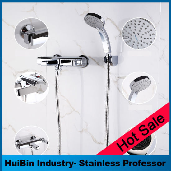 8 X 8 Function American Standard Combo Shower Set 3 Way High Pressure Hand  Held Showerhead With Flexible 15 Inch Hose Chrome Finish